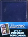 "#81145 ULTRA PRO 3 ""x 4"" PREMIUM TOP LOADER"