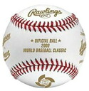 ( specification on colour bleeding and description make sure ) rolling Inc. 2009 WBC world base ball classic Championship commemorative ball RAWLINGS BASEBALL
