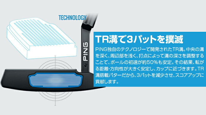 TR溝で3パットを撲滅