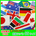 ・Six pieces of sets (delivery) which can choose 1,000 yen national flag emblem (SS)