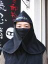 忍者头巾的系法图解