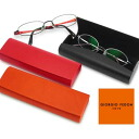 [GIORGIO FEDON] P-OCCHIALI-GF SMOOTH glasses case (eyeglass case )