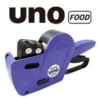 ハンドラベラー新機種 UNO FOOD