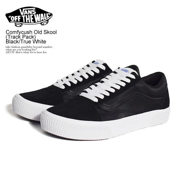VANS Comfycush Old Skool (Track Pack) Black/True White