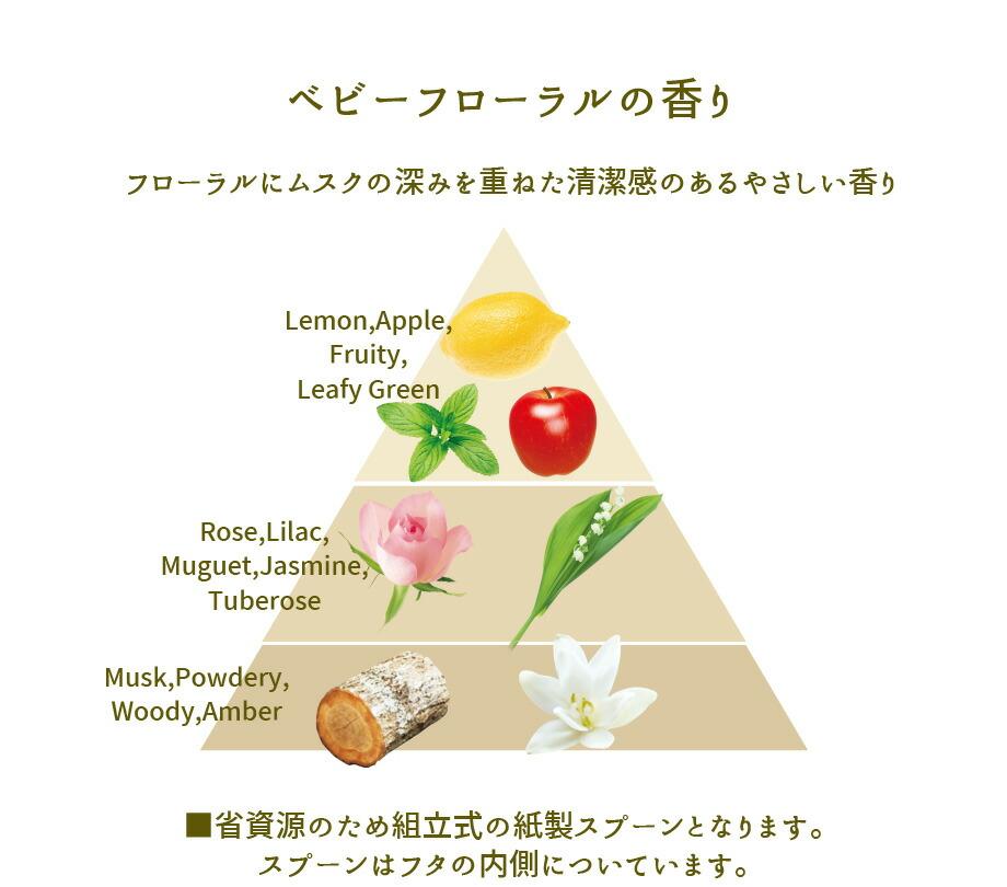 ベビーフローラルコンパクト洗剤