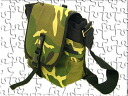 ◆ANT SHOULDER BAG shoulder bag camouflage pattern