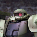 ◆ BANDAI Bandai EXTENDED MS IN ACTION Ms-06f Zaku 2