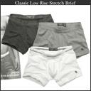 ◆ Abercrombie & Fitch men's classic low rise stretch briefs