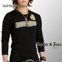 -Jupiter &Juno (ジュピターアンドジュノ) Skull Wappen Long Sleeve Tee (skull patch l/s t-shirt)