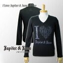 △Jupiter&Juno( ジュピターアンドジュノ )I Love Jupiter & Juno Long Sleeve Tee( eye love Jupiter & Juneau long sleeves T-shirt)