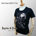 Jupiter &Juno (ジュピターアンドジュノ) Faint Lame Skull Short Sleeve Tee (rubbing ラメスカル short sleeve T shirt)