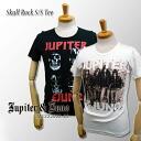 * &Juno Jupiter (Jupiter and Juno) Skull Rock Tee, skull rock short sleeve T shirt