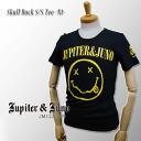 * &Juno Jupiter (Jupiter and Juno) Skull Rock Short Sleeve Tee-N1-(skull rock short sleeve T shirt-N1-)