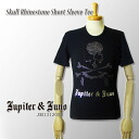 Jupiter&Juno( ジュピターアンドジュノ )Skull Rhinestone Short Sleeve Tee( scull rhinestone short sleeves T-shirt)