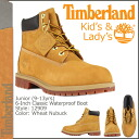 Timberland Timberland 6 inch premium boots 12909 6Inch Premium Boot waterproof junior kids child ladies