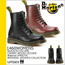 Point 2 x Dr. Martens Dr.Martens 1460 WOMENS Ladies 8 hole boots MATERIAL UPDATES leather mens R11821006 R11821600 black red [11 / 19 Add stock] [regular] 02P30Nov14