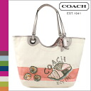 Coach COACH tote bag multi-color Beach shell motif women's 02P13Dec13_m