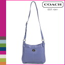 Coach COACH shoulder bag cornflower Penelope leather hippie ladies