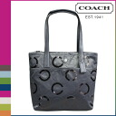 Coach signature sequins women's COACH tote bag [F25470] gray [regular outlet]