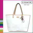 Point five times coach COACH Womens Tote Bag F32481 ivory parka signature Metro embossed patent Tote [7 / 14 new in stock] regular outlet