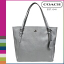 Coach COACH Womens Tote Bag F27349 anthracite Peyton leather zip top Tote PEYTON LEATHER ZIP TOP TOTE [12 / 18 new in stock] regular outlet ★ ★