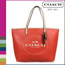Point 2 x coach COACH Womens Tote Bag F31315 vermilion Parker Metro horse & carriage Tote [8 / 26 new in stock] regular outlet P12Sep14