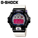 Point 2 x Casio g-shock CASIO watch [Black x White] DW-6900SC-1JF crazy colors men's women's watches new unisex [regular] 02P30Nov14