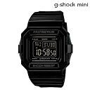 Point 2 x Casio CASIO g-shock mini ladies watch men's watches GMN-550-1DJR black [8 / 11 Add in stock] [regular]