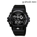 Point 2 x Casio CASIO g-shock mini ladies watch men's watches GMN-691-1AJF black [11 / 29 Add restock] [regular] 02P30Nov14