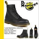 Dr. Martens Dr.Martens 1460 8 hole boots R11822003 MATERIAL UPDATES Noir leather mens Womens 8 EYE BOOT