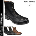 Royal Republic ROYAL REPUBLIQ Grana Zip Boots GRANA ZIP BOOT leather mens 109362-125 3 colors [1 / 5 new in stock] [exclude] ★ ★