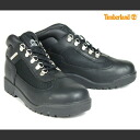 Timberland Timberland waterproof field boots black boots BLACK BOYS GIRLS