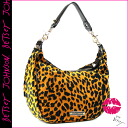 Betsey Johnson BETSEY JOHNSON ショルダーバッグレオパード Womens Bag Leopard