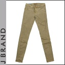 [SOLD OUT] [Lady's] Jay brand J BRAND stretch denim [LEGGINGS roller is Kinney] sand cotton bottoms STRETCH DENIM [regular]