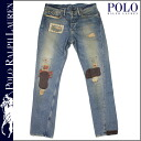 "Men's Polo Ralph Lauren POLO by RALPH LAUREN vintage & patchwork denim 1361420 BBOY BROOKLINE ""SLIM"" cotton"