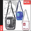 Diesel DIESEL shoulder bag 3 colors polyvinyl chloride vinyl mens ladies bag shoulder BAG SHOULDER POLYVINYLCHLORID BLACK BLUE WHITE