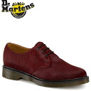 Point 2 x shoes Dr. Martens 1461 3 Dr.Martens Hall [Cherry Red] R10078600 MODERN CLASSICS leather heart on men's women's 3 EYE SHOE Huracan unisex [regular] P06Dec14