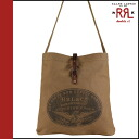 Double are L RRL DOUBLE RL Ralph Lauren shoulder bag 30571KH vintage cotton men
