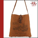 Double are L RRL DOUBLE RL Ralph Lauren shoulder bag 30422OL vintage cotton men