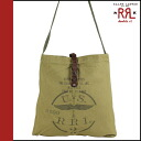 Double are L RRL DOUBLE RL Ralph Lauren shoulder bag 30423OL vintage cotton men