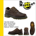 Men's women's leather R14347201BEN shoes Dr. Martens Dr.Martens 3 Hall [Brown] [regular]
