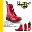 Dr. Martens Dr.Martens 1460 WOMENS 8 hole boots MATERIAL UPDATES patent leather women's men's R11821606 8EYE BOOTS Red [regular]