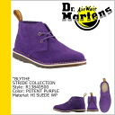 Dr. Martens Dr.Martens 2 ホールロー boots R13840500 BLYTHE 2EYE LOW BOOT suede men's women's suede