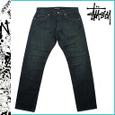 Stussy STUSSY vintage denim Rough rugged Denim vintage cotton men's