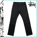 ステューシー STUSSY denim Mid Town Reg Fit cotton men