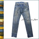 Artisan luxury Artisan de Luxe vintage denim M028003 drop crotch 8 cotton men's jeans