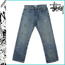 Stussy STUSSY denim WORKGEAR cotton mens