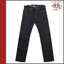 Double Aurel RRL DOUBLE RL Ralph Lauren vintage denim 4860480 RVSF Navy Blue VINTAGE STRAIGHT cotton ladies