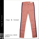 Rag & bone rag &bone skinny jeans 017118 MPK SKINNY cotton ladies