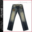 Cult of インディビジュアリティ Cult of individuality vintage denim 628-251B HAGEN RELAXED JAPANESE DENIM cotton men's